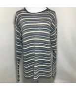 J Crew striped Long Sleeve Lightweight Sweater Sz Medium - $23.99