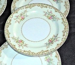 Noritake China Nana Rosa Pattern # 682 Salad Plates AB 336-N Vintage
