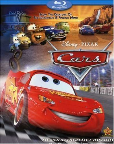 Disney Pixar Cars (Blu-ray, 2006)
