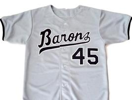 Michael Jordan #45 Birmingham Barons Button Down Baseball Jersey Grey Any Size image 1