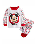 Disney Store Baby Boys Mickey Mouse Club Long Sleeve PJ Pals Pajama Set,... - $19.57