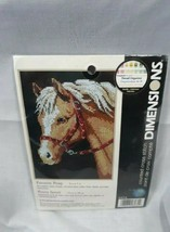 """Dimensions Favorite Pony Counted Cross Stitch Kit 6974 Sealed 5x7"""" 13x18cm New - $23.14"""