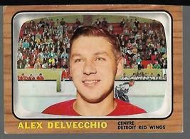 1966-67 Topps #102 Alex Delvecchio EX - $45.52