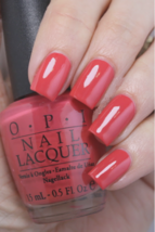 OPI India LUNCH AT THE DELHI Muted Coral Creme Nail Polish Lacquer I51 .... - $23.00