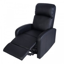 Home Theater Recliner PU Leather Heavy Duty Comfortable Sofa TV Lounge M... - $249.01