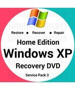 Windows Xp Home 32 Bit Recovery Reinstall Boot Restore DVD Disc Disk - $14.99