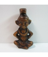 Vintage 1960 Hawaiian Treasure Craft of Hawaii Menehune Elf Pixie Dwarf ... - $19.99