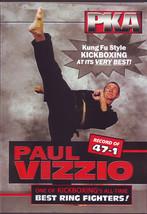Paul Vizzio Kung Fu PKA Professional Karate Greatest Fights DVD 47-1 - $24.00