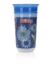 Nuby 10 Oz. Insulated 360 Wonder Fireworks Light Up Cup - $12.37