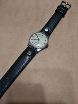 Pobeda 15 Jewels Gold plated mens wrist watch vintage 1954yer USSR RARE original image 4