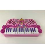 Disney Princess Enchanted Melody Keyboard Electronic Music 2010 Band Rec... - $29.36