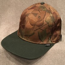 VANS Tropical Hat Adjustable Green SnapBack Cap! 536 - $9.89
