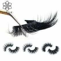 DYSILK® Natural 3D 100% Mink False Eyelashes Thick Eyelash Extension Volume - €2,33 EUR