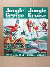 1950s Jungle Cruise Vintage Travel Brochure Miami River Musa Isle Indian... - $15.00