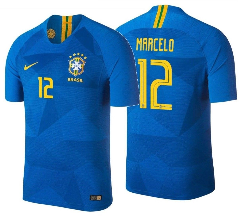 ab0defaa17b S l1600. S l1600. Previous. NIKE MARCELO BRAZIL VAPORKNIT VAPOR MATCH AWAY  JERSEY FIFA WORLD CUP 2018. NIKE MARCELO BRAZIL ...