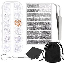 Selizo Eyeglass Repair Kit with Eyeglass Nose Pads and Glasses Screws Screwdrive image 10