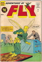 Adventures of The Fly Comic Book #5, Archie 1960 VERY GOOD+ - $34.72