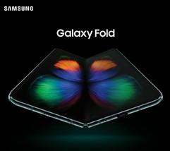 Samsung Galaxy Fold SM-F907N 5G/4G LTE Foldable Phone Unlocked 512GB CosmoBlack image 2