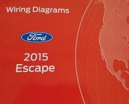 2015 ford escape electrical wiring diagram repair manual ewd factory - $13.85
