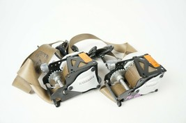 07-2013 bmw x5 e70 front left right seat belt retractor pair of 2 beige tan - $85.58