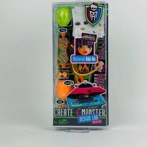 2012 Monster High Create A Monster Design Lab Nocturnal Add-On Pack - $11.88