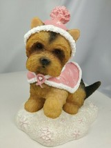 Hamilton Faith For The Future Paws For The Cause Collection Yorkie Figur... - $19.75