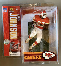 2006 Larry Johnson McFarlane NFL Series 14 - Kansas City Chiefs - Unopened - $19.99