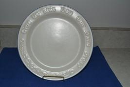 Pfaltzgraff Yorktowne Tavern Bread Plate  Stone... - $15.47