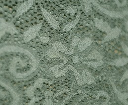 Amanda Blu 31503 Boot Cuffs Olive Green Lace 5 Inches Tall image 2