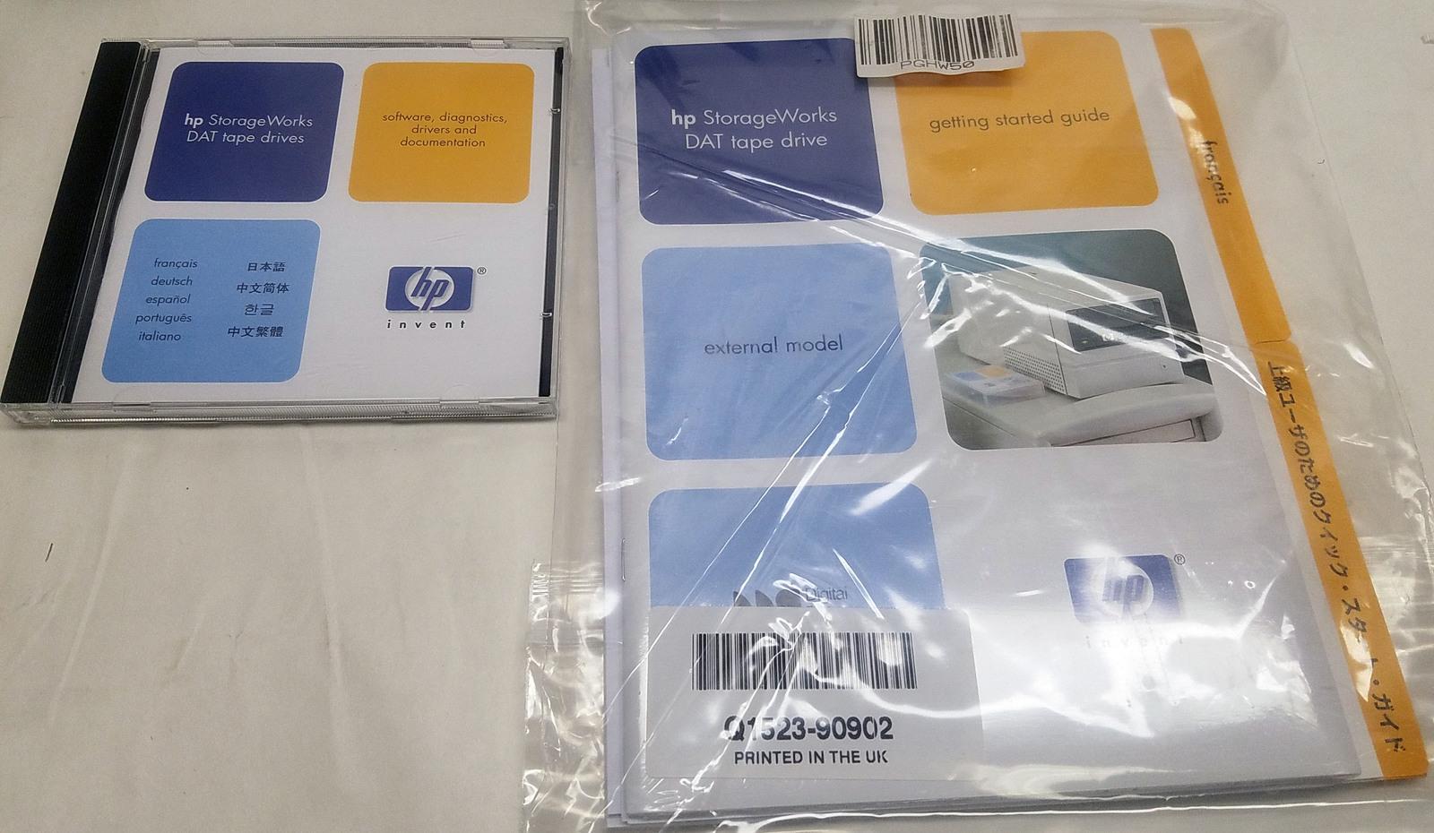 HP StorageWorks DAT 40 External Tape Drive C5687C Bin: 10