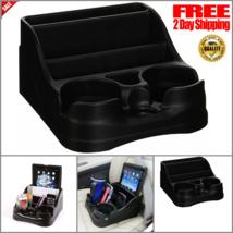 Car Cup Holder Organizer Universal Center Console Truck Adjustable Drink... - $19.14