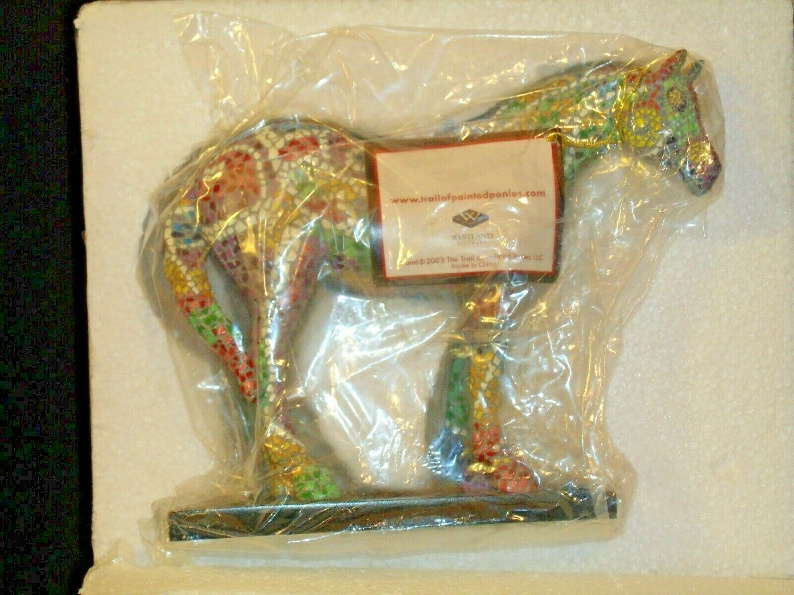 Trail Of Painted Ponies #1456 Caballo Brillante Westland Giftware AA-191989 Co