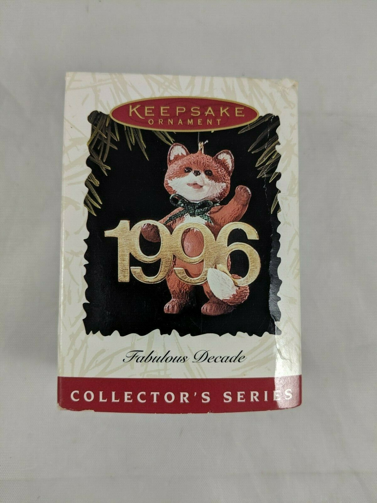 Primary image for Hallmark Keepsake 1996 Fox Fabulous Decade Christmas Ornament