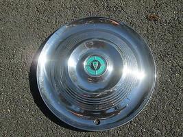 one 1955 1956 Chrysler Windsor 15 inch hubcap wheel cover - $37.01