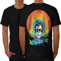 Elvis Skull Shirt Crazy Men T-shirt Back - $12.99+