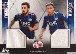 Diego Fagundez/Juan Agudelo 2019 Topps MLS Card - New England Revolution... - $8.99