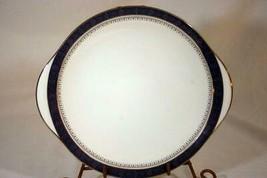 "Royal Doulton 2001 Sherbrooke Cake Plate 9 1/2"" - $41.57"