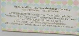 Grasslands Road 2 Piece Set Chick Magnet Hat Bodysuit White 0 to 3 Months image 4