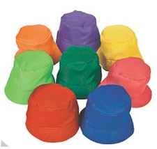 Orange Bucket Hat Child Size Cotton Beach Camping Fishing T11 - $3.95