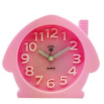 George Jimmy Cute Student Alarm Clock Stylish Silent Bedside Alarm Clock #18 - $29.62
