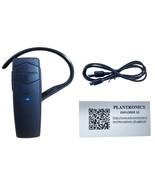 Plantronics Explorer 10 Bluetooth 3.0 Black Earhook Mobile Universal Hea... - $18.99
