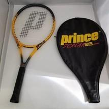 "Prince Scream 26 OS Tennis Racket Yellow Black Composite 26"" Length Case... - $26.60"