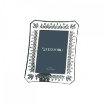 """WATERFORD Crystal Lismore 4X6"""" Frame New # 108049 Hand Signed  - $163.35"""