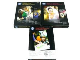 HP Premium Photo Paper Lot of 3 - $29.65