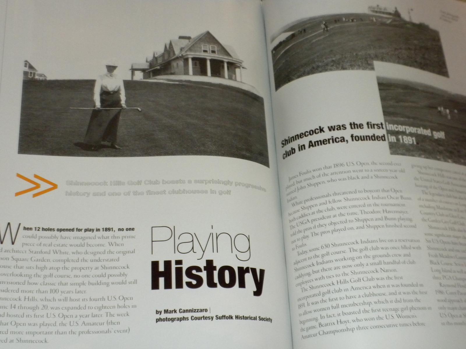 2004 US Open Golf Shinnecock Hills Sergio Garcia, Pavin, Floyd HAMPTON SPORTS