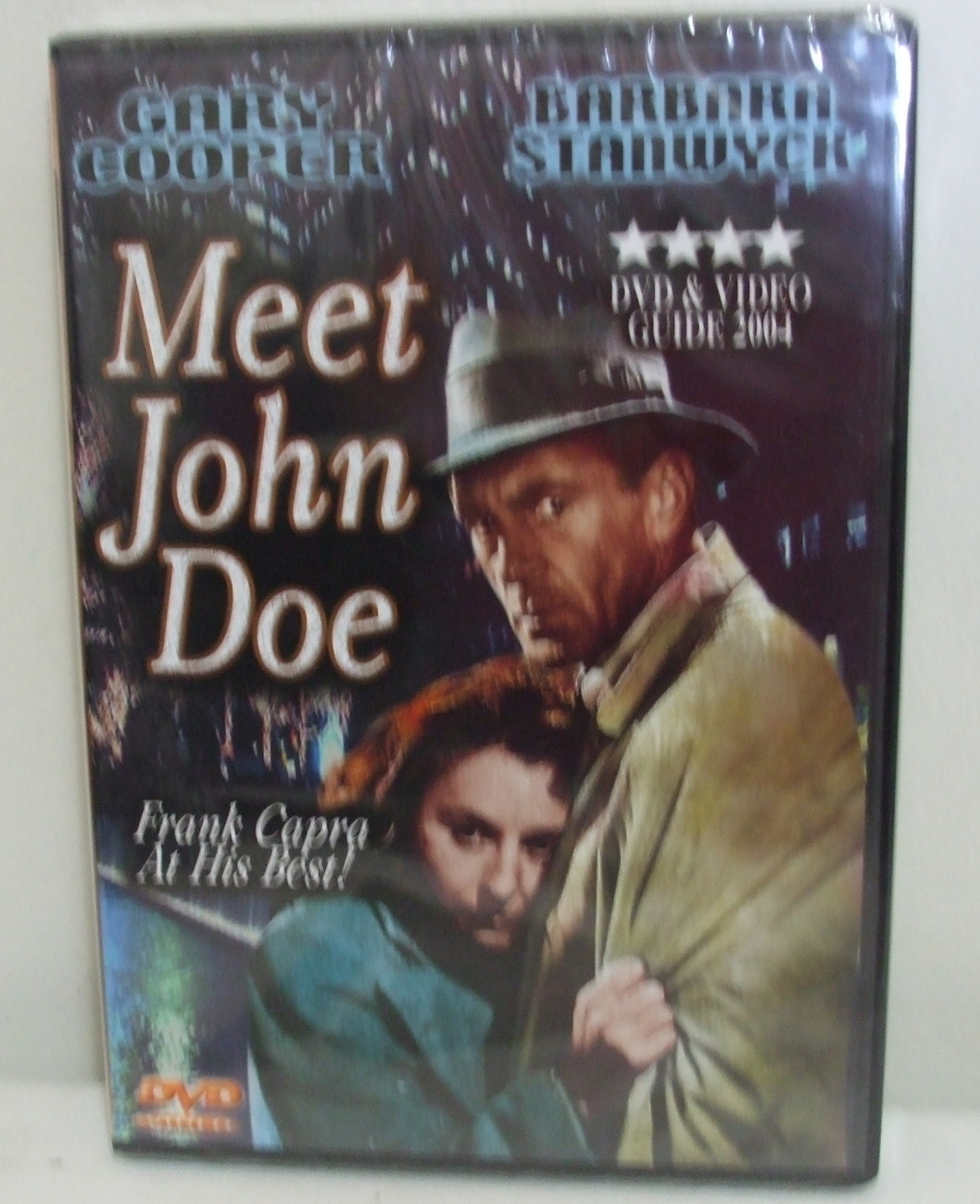 DVD New Meet John Doe Gary Cooper and Barbara Stanwych