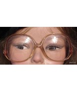 Vintage 60'S Look CHARMANT EYEGLASSES FRAMES 130mm - $36.91