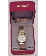 Men's Vtg Gruen Precision Watch 10Krgp & Case 17J Narcotics Squad 1969 S... - $139.95