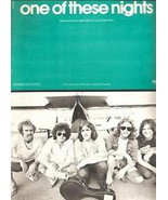 "1975 Sheet Music ""ONE OF THESE NIGHTS"" The Eagles - $15.00"