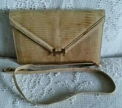 Hermes Lydie Lizard Clutch Exotic BAG HANDBAG PURSE WITH Strap 70S RARE ... - $6,995.00
